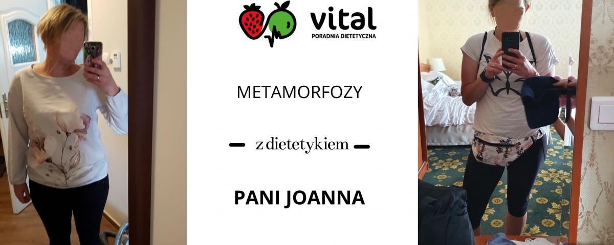 metamorfoza Joanny z dietetykiem